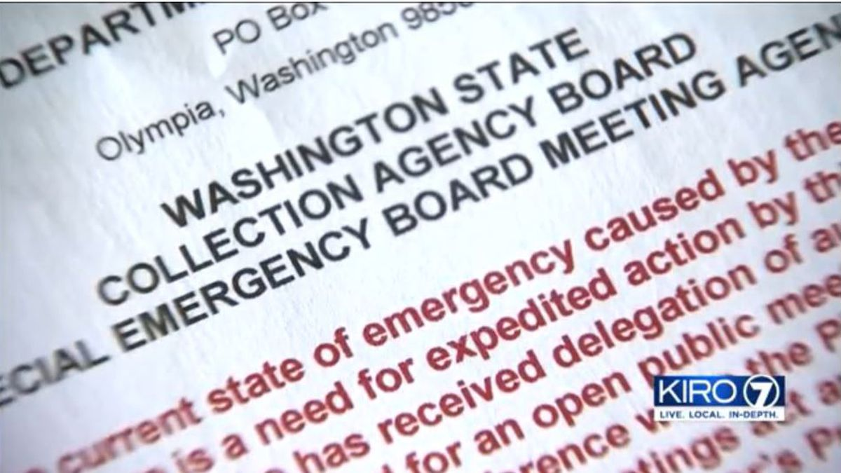 Emergency vote allows debt collectors to work from home