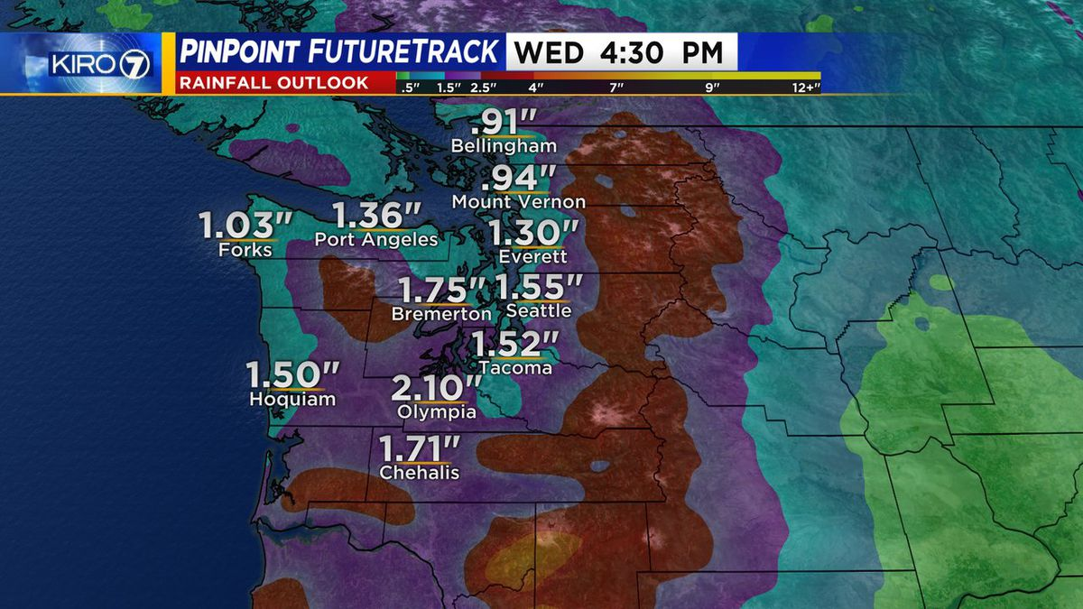 Wet and windy night with flooding, power outages possible