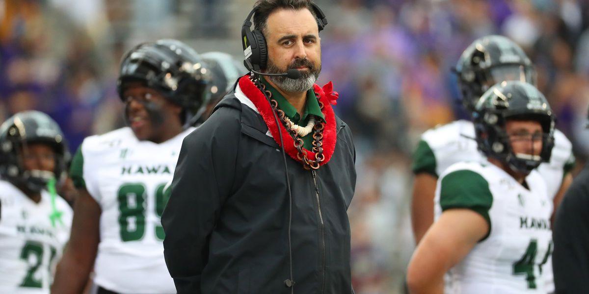 AP source: WSU finalizing deal to make Nick Rolovich head coach