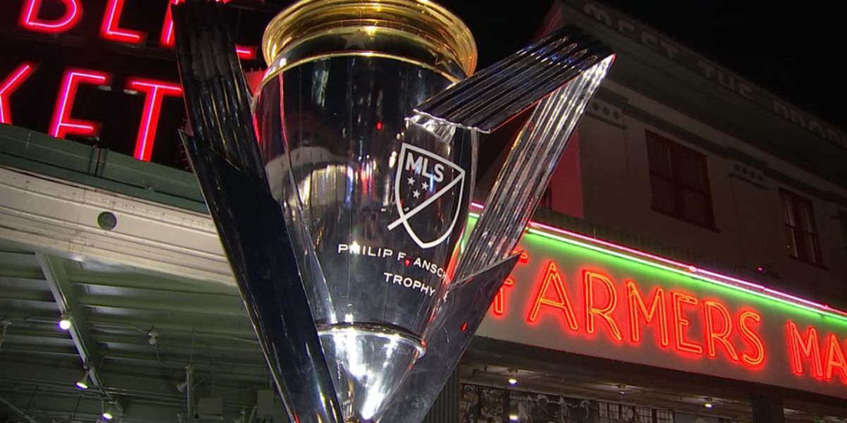MLS Cup making its way around Seattle ahead of Sounders championship match