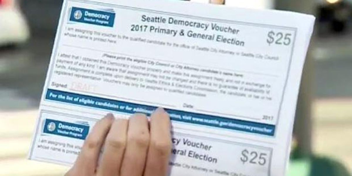 Seattle's million-dollar experiment with Democracy vouchers is distributing thousands