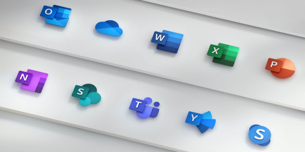 Microsoft redesigns its Office app icons