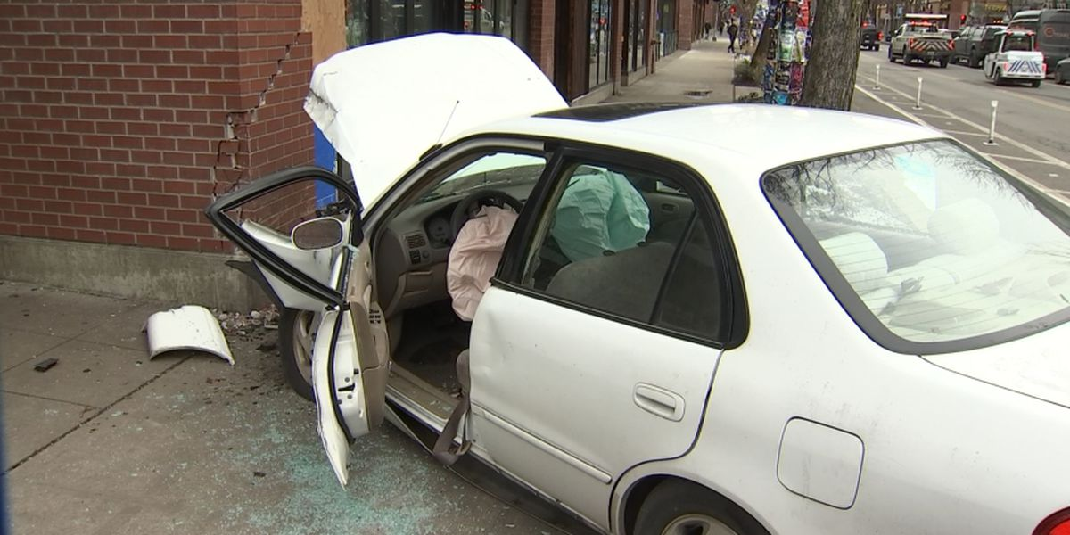 Car hits building in Seattle's Capitol Hill neighborhood
