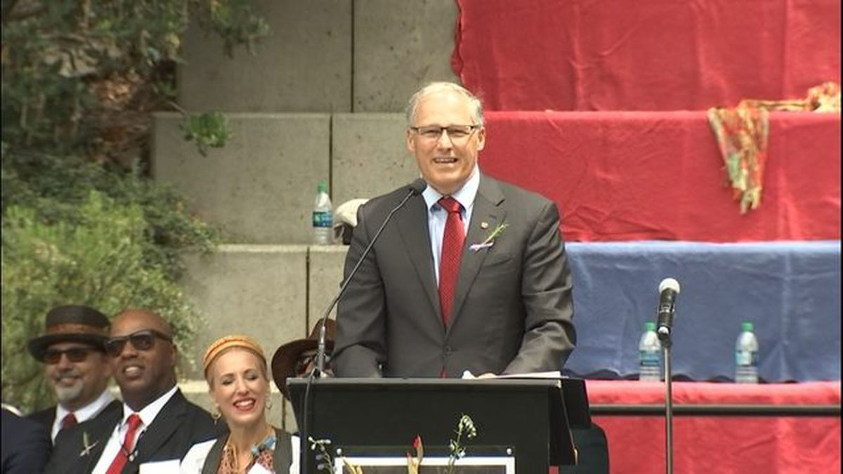Washington Gov. Inslee 'not ruling out' presidential run in 2020