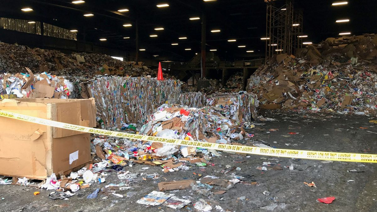 Body discovered at recycling plant in Frederickson