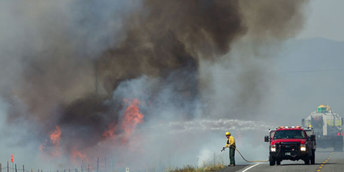 FEMA funds to help fight Benton County wildfire