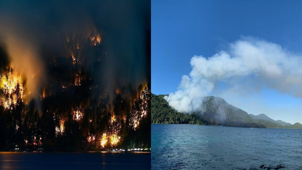 People could have ignited wildfire burning in Olympic National Park, officials say