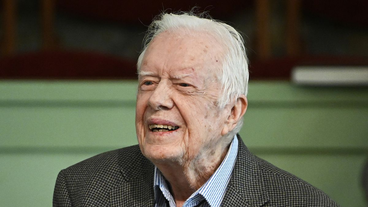 Pastor: Jimmy Carter walking, in 'good spirits' after brain surgery
