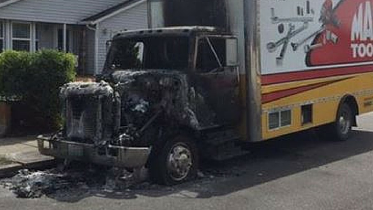 $100,000 worth of tools saved from truck fire