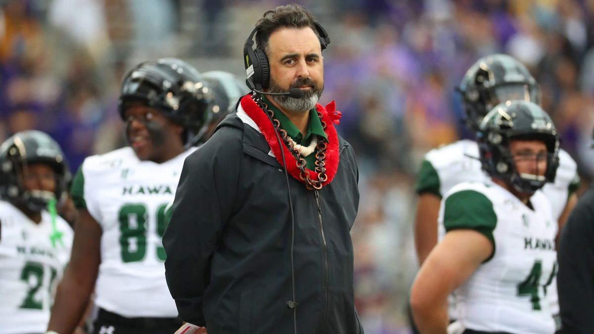 AP source: WSU finalizing deal to make Nick Rolovich head coach