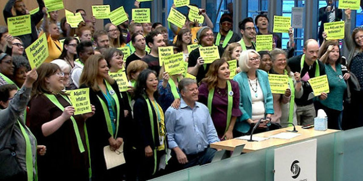 On the brink of homelessness, Seattle social workers fight for raises