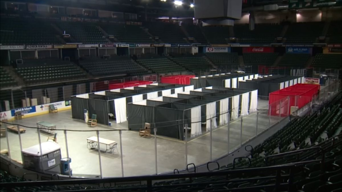 Isolation, quarantine site at Angel of the Winds Arena to move to Evergreen State Fairgrounds