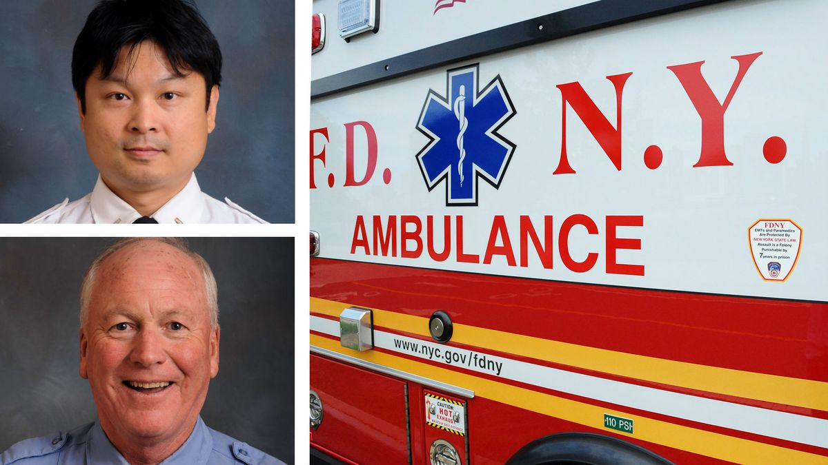 New York EMT suffers aneurysm while helping fellow EMT who had stroke