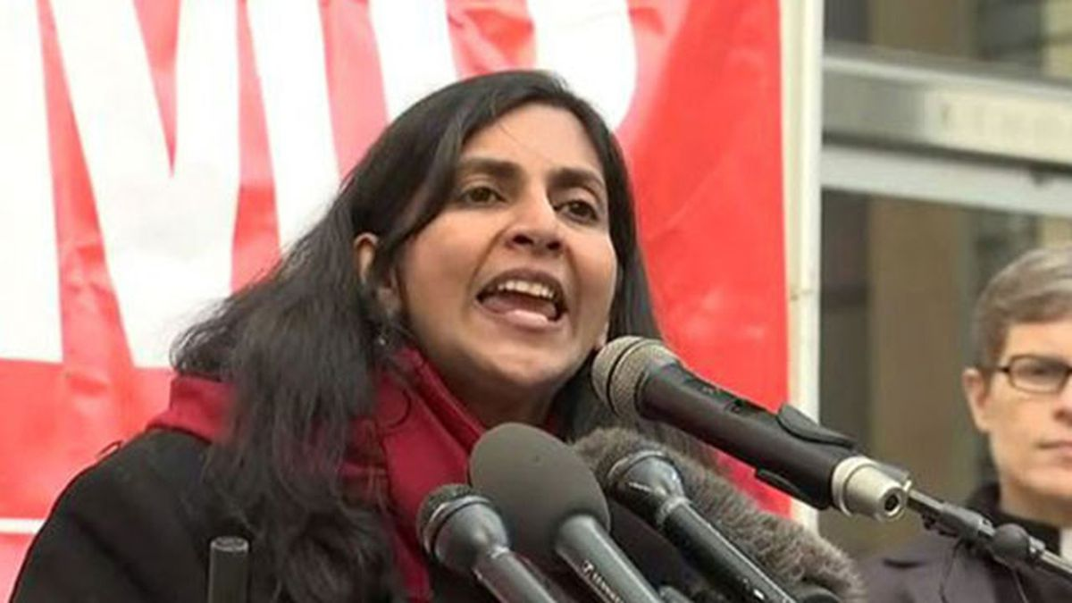 Sawant: Seattle a 'playground for the rich,' protests outside Amazon