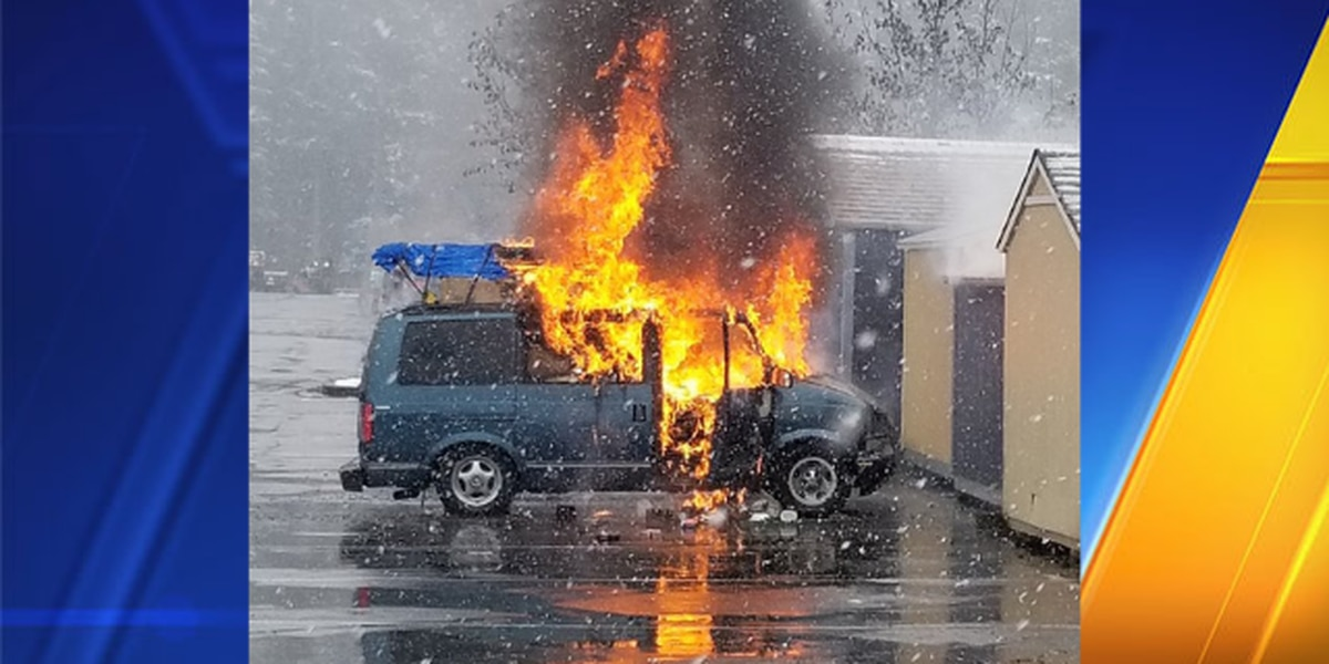 1 person taken to hospital, 1 pet dead in car explosion at Home Depot in Puyallup