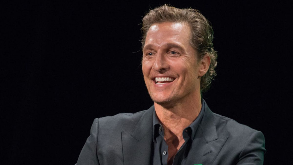 Texas had full section of Matthew McConaughey movie cutouts for TCU game