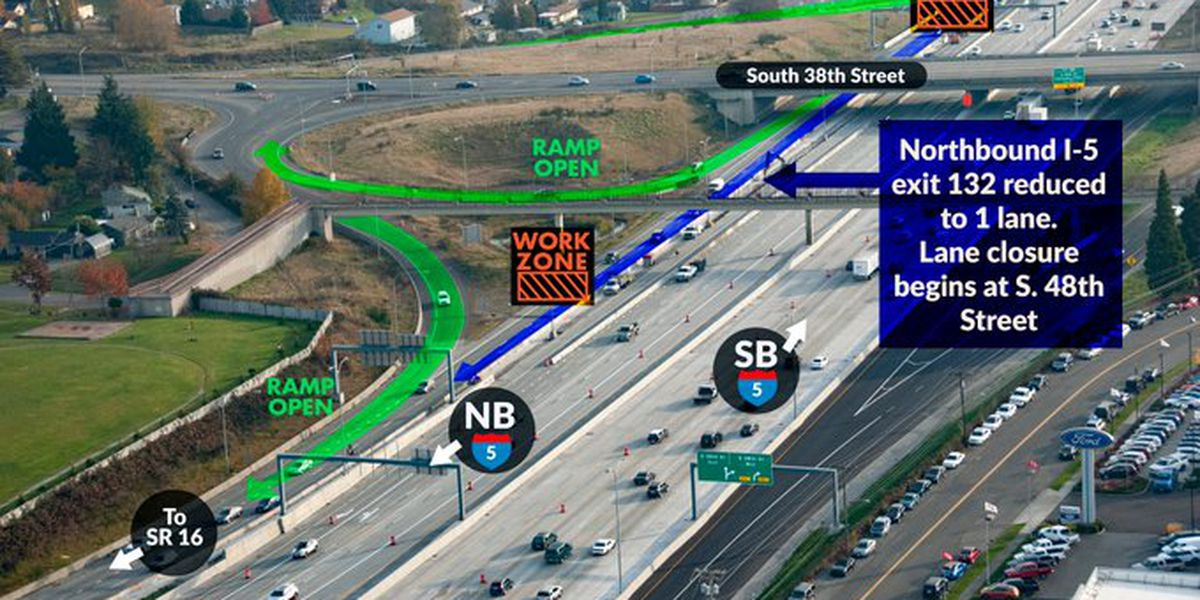 Avoid northbound Interstate 5/Route 16 interchange this weekend if you know what's good for you