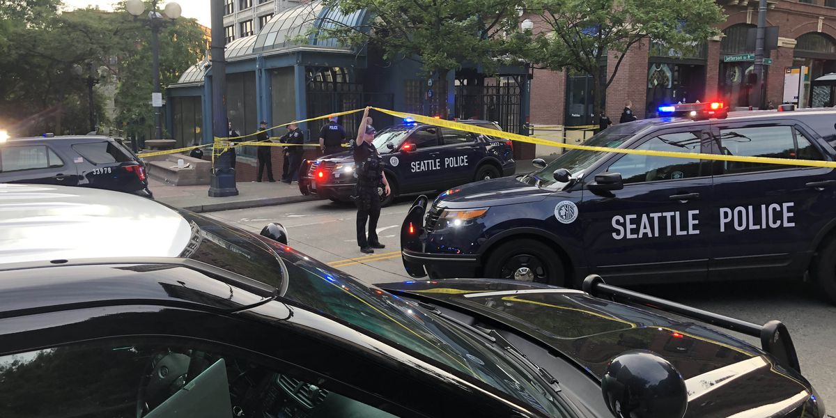 Police: Woman shot in Pioneer Square