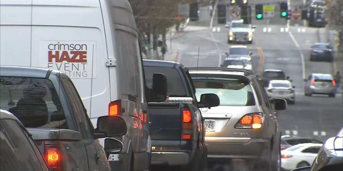 Study: Seattle drivers may have lost up to 138 hours last year due to traffic