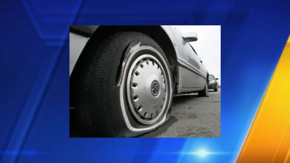 Police searching for person responsible for tire slashing spree