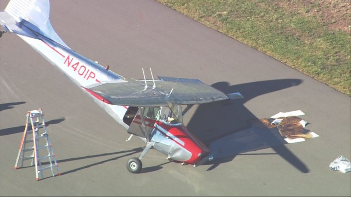Small plane crash at Paine Field
