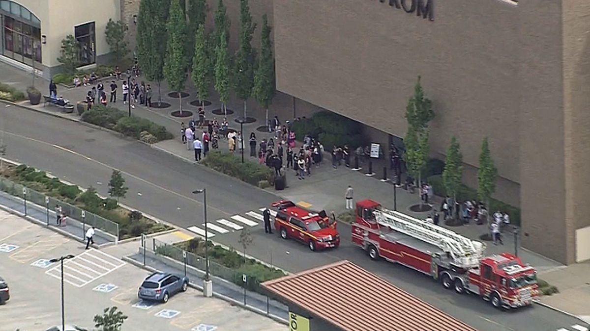 Pepper spray causes hazmat response, evacuations at Northgate Mall