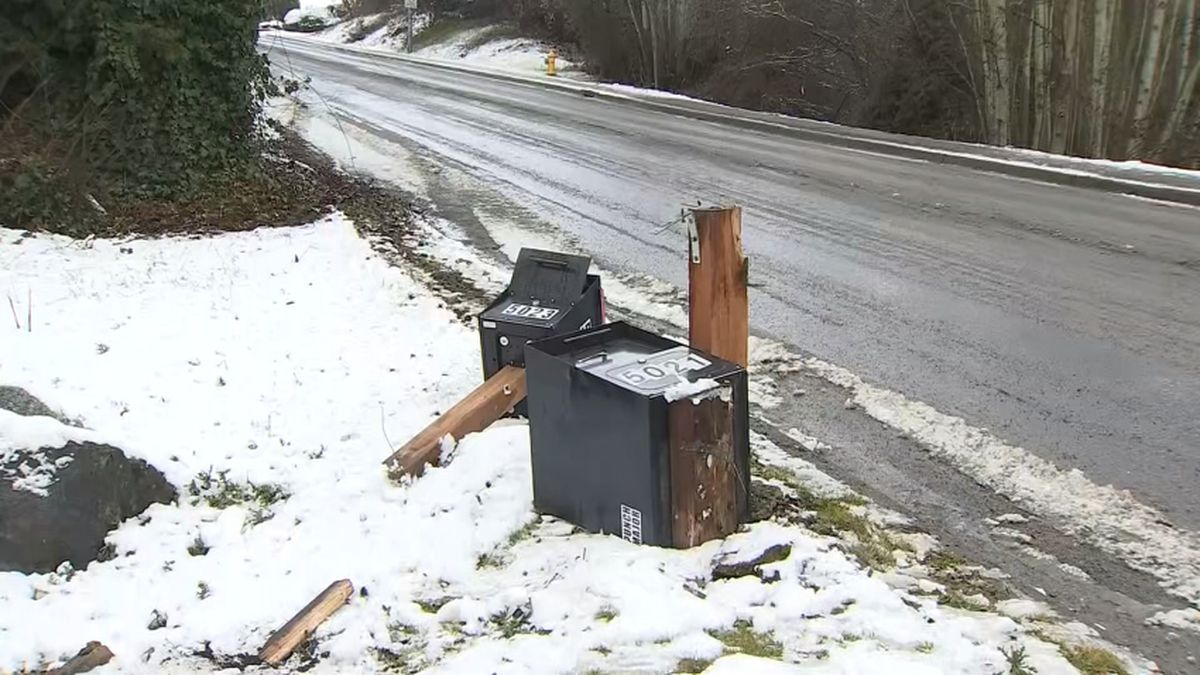 March snow causes slippery roads, school delays