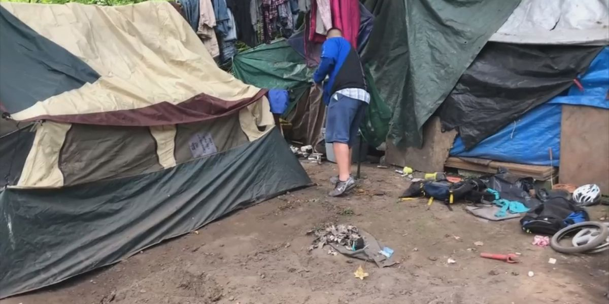 Homeless camp sweeps in Puyallup illegally trashed personal belongings, lawsuit says