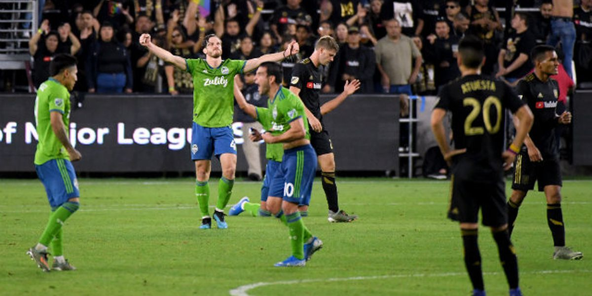 Sounders to face Toronto FC in MLS Cup final at home