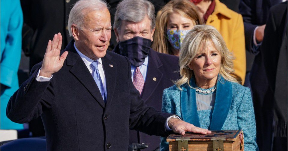 Joe Biden Inauguration: Biden sworn-in as president; live updates