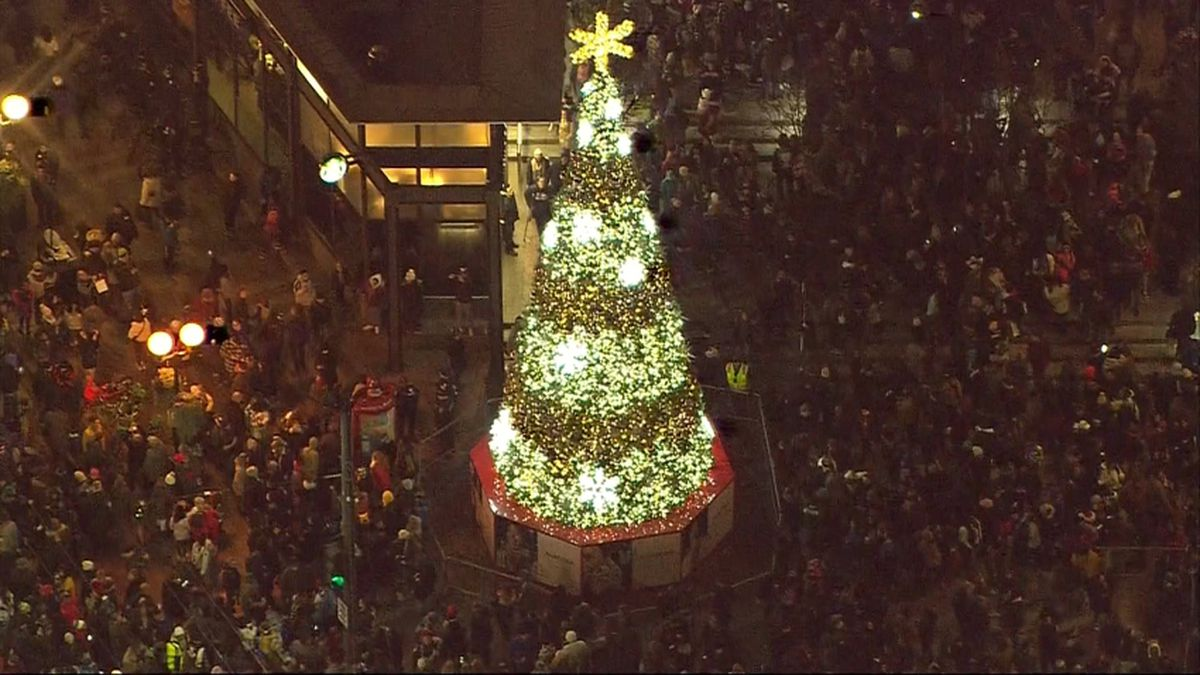 Westlake Center tree lighting goes virtual on KIRO 7