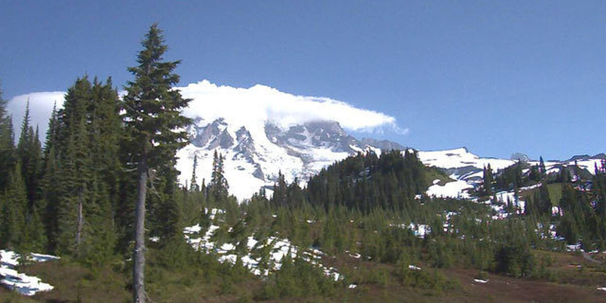 Rainier rangers still looking for skier, but terrain unsafe for extensive search