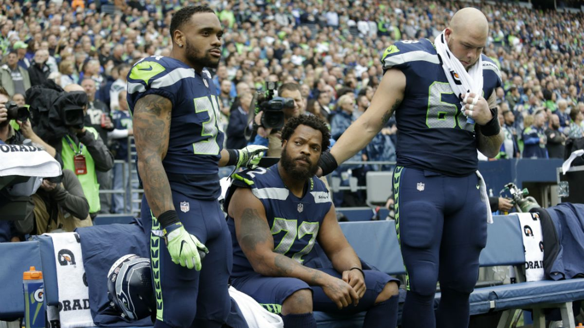 Seahawks players respond to Trump's condemnation of anthem protest