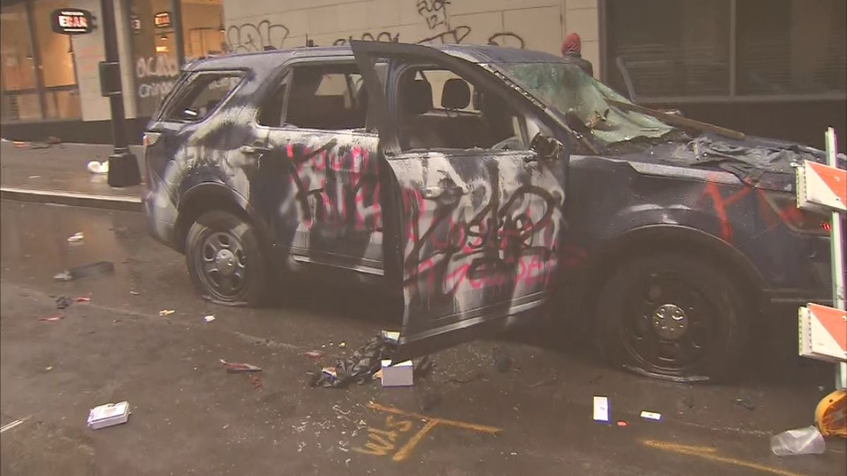 2 rifles stolen from police vehicles during protests later recovered