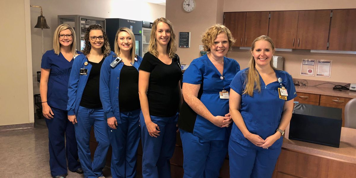 Meet the 6-pack: six nurse friends at one hospital are pregnant at the same time