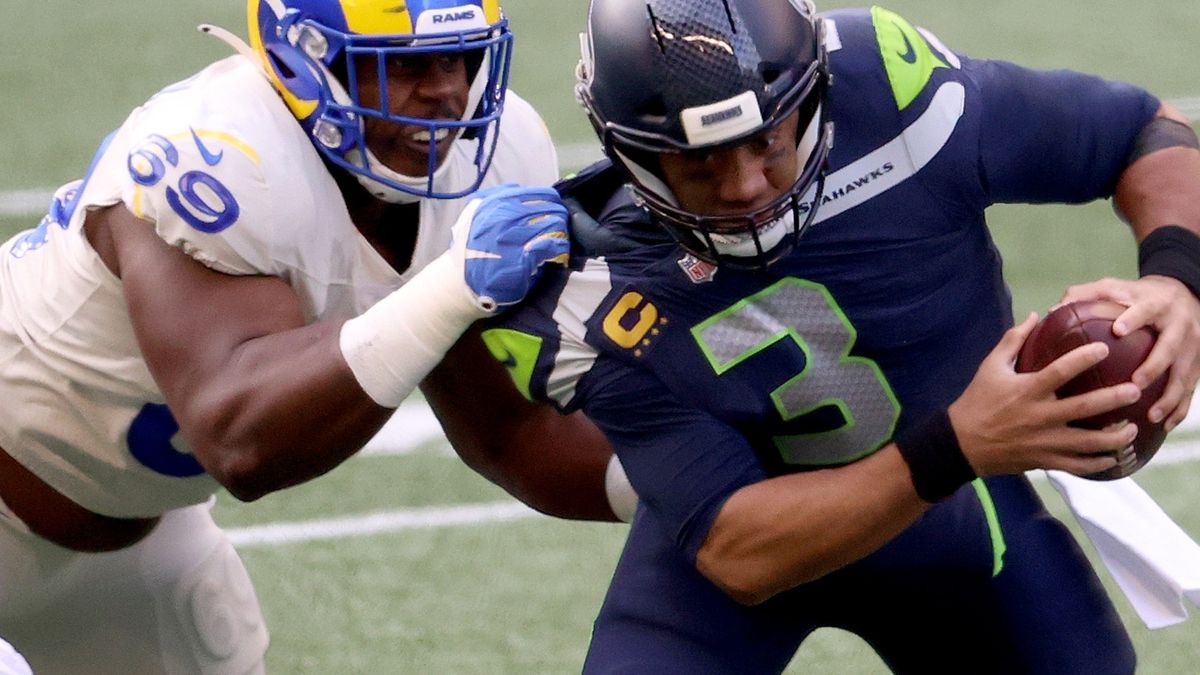 Seahawks wrap up NFC West title with 20-9 win over Rams