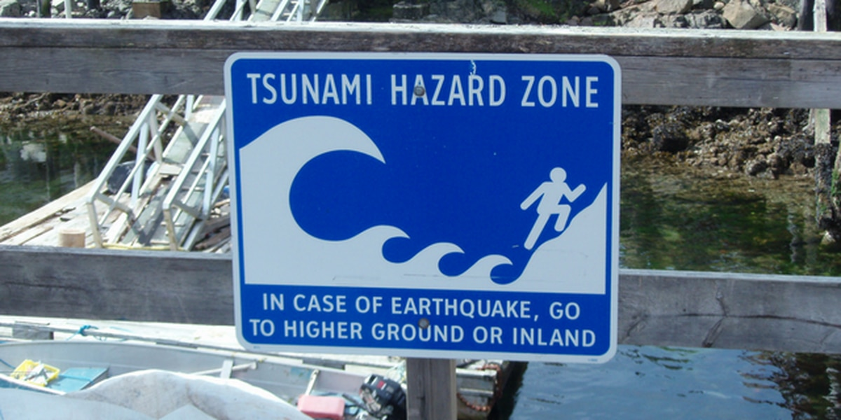 State tsunami map predicts where 60-foot tall wave will hit following simulated 9.0 quake