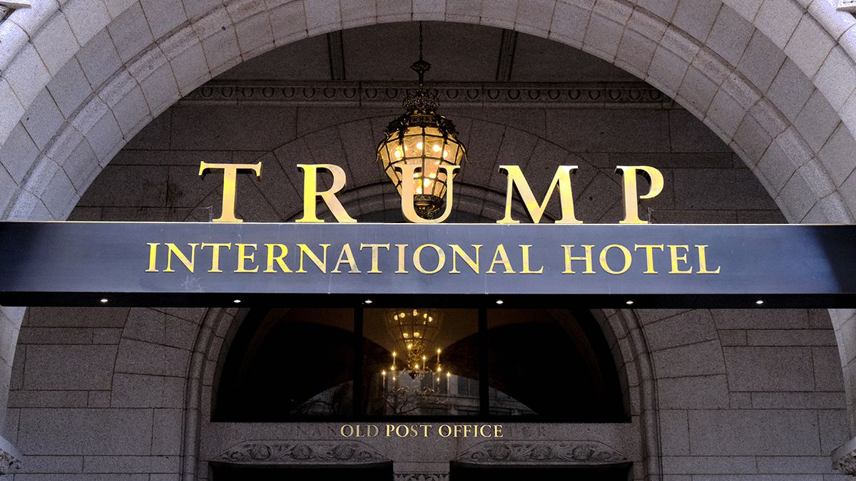 DC sues Trump inaugural committee over payments to president's hotel