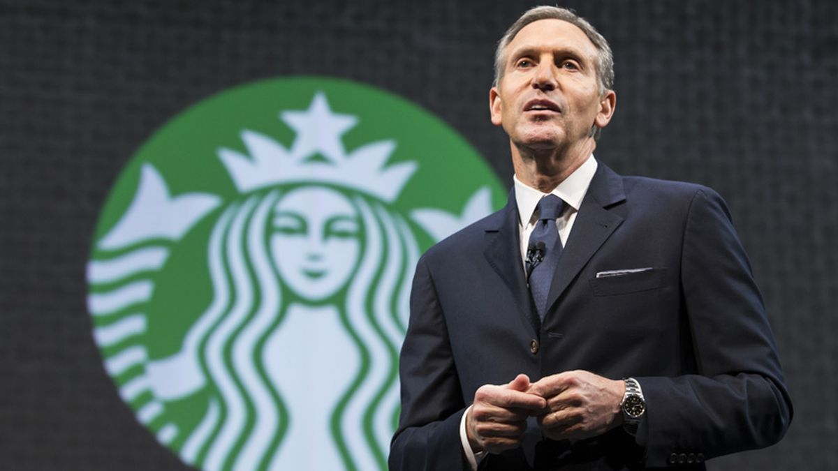 Howard Schultz attends last Starbucks shareholders meeting as CEO