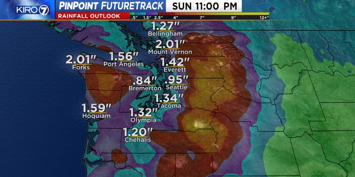 More river flooding expected