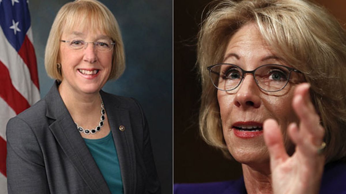 Betsy DeVos confirmed as education secretary; Sen. Murray calls pick unqualified