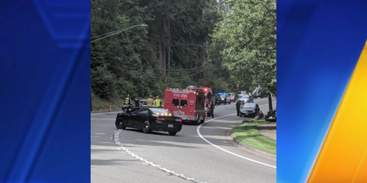 2 vehicles involved in suspected DUI collision in Bothell