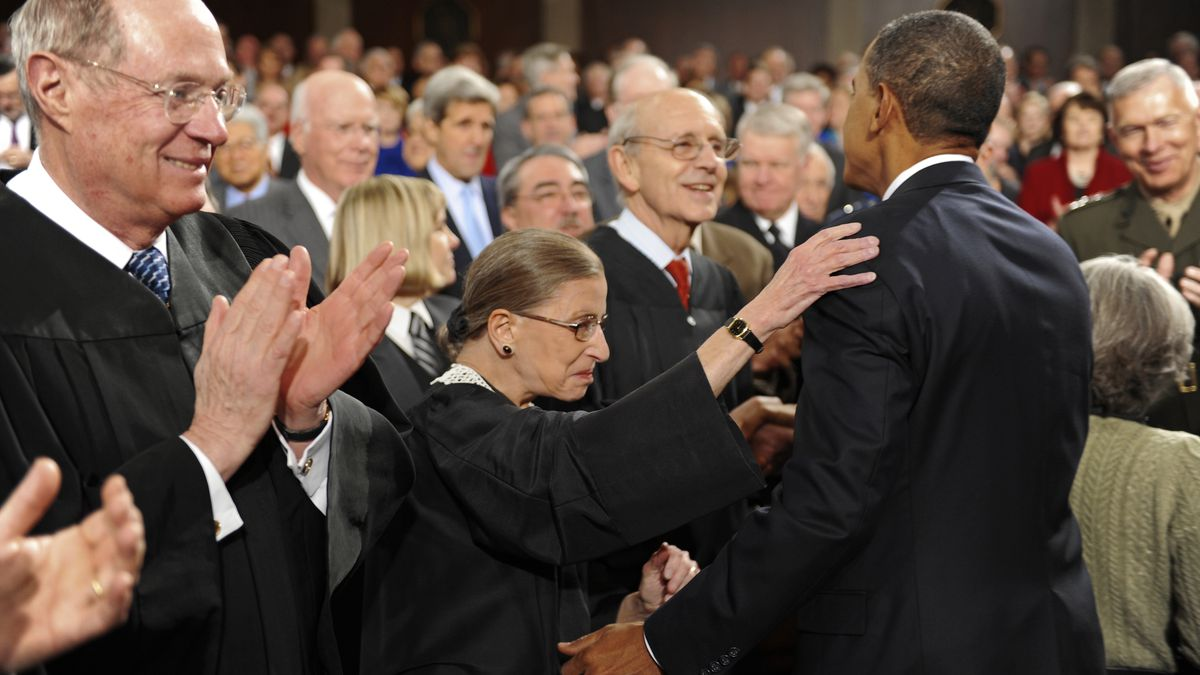 Barack Obama's statement on the death of Ruth Bader Ginsburg