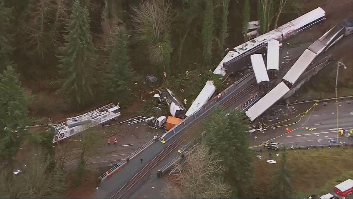 Deadly Amtrak derailment near DuPont caused environmental damage, landowner alleges