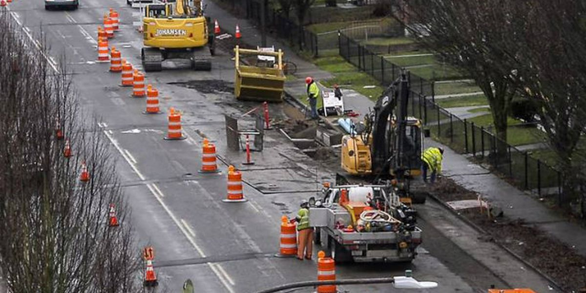 Link light rail expansion means street construction projects across Tacoma