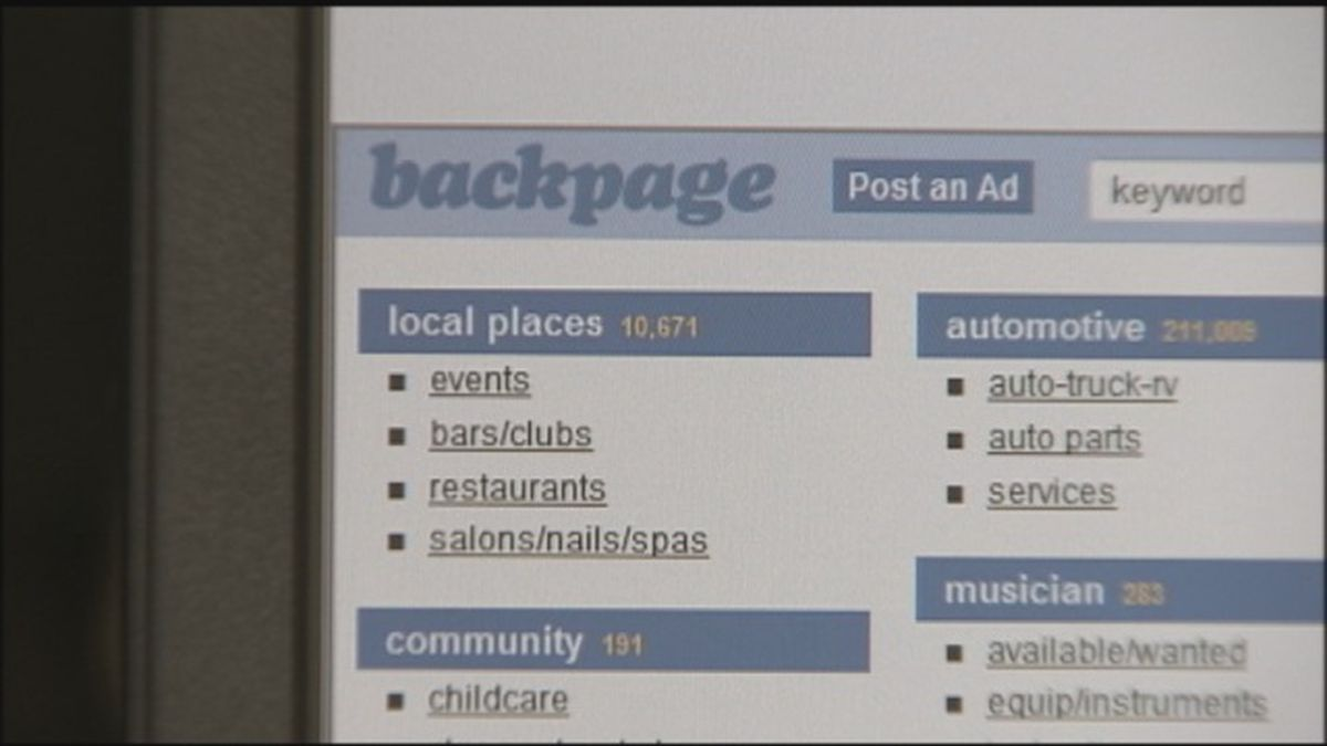 Backpage.com sanctioned by Pierce County judge in lawsuit, after CEO's guilty plea