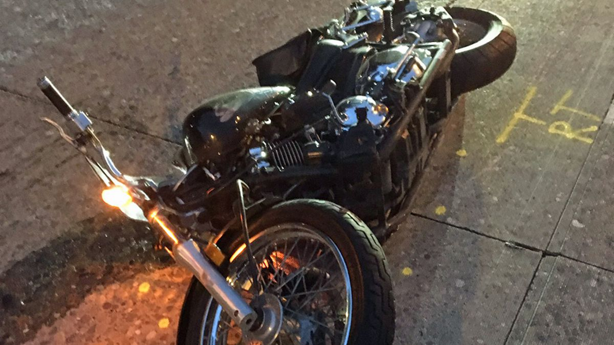 Fatal motorcycle crash snarls I-5 traffic in Downtown Seattle