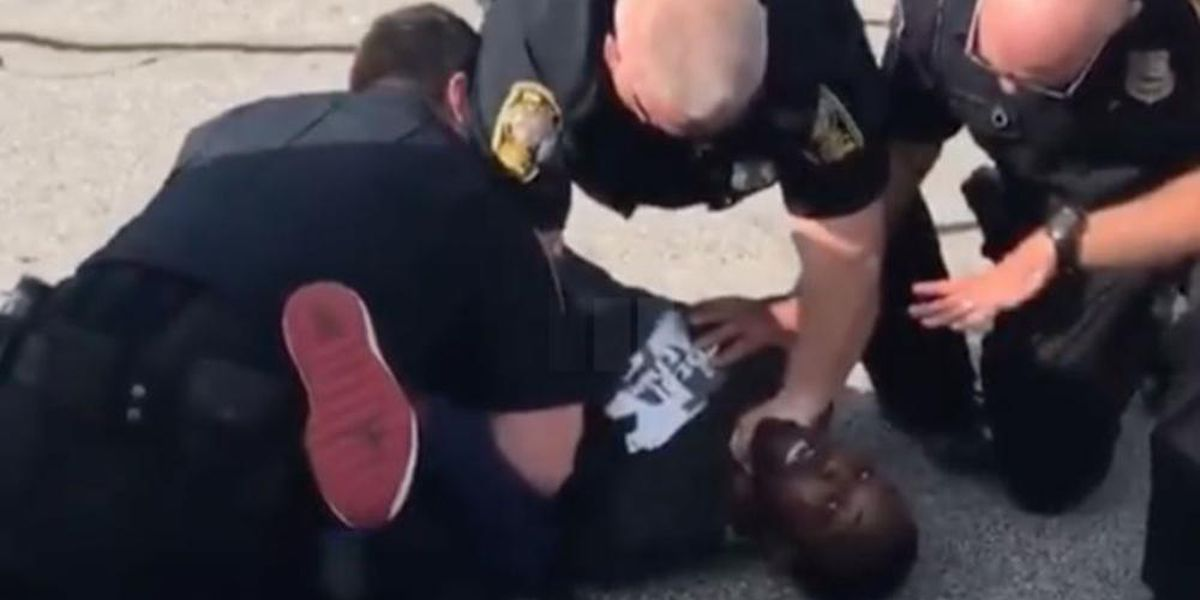 Video shows officers slam handcuffed former NFL player Desmond Marrow