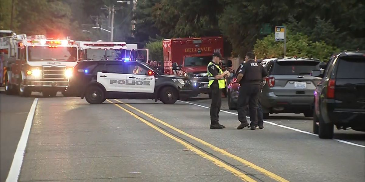 RV driver ejected, killed in Bellevue rollover crash