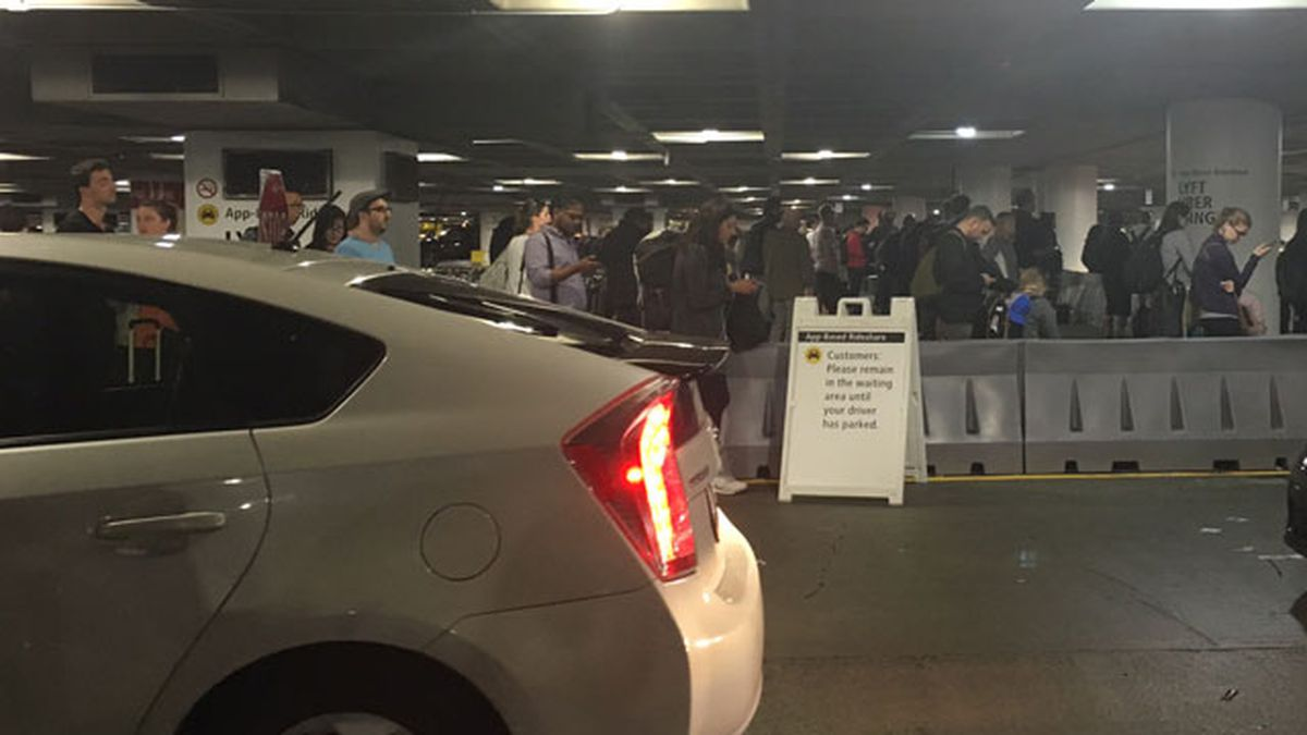 92K people picked up from Sea-Tac Airport with Uber, Lyft in 1 month